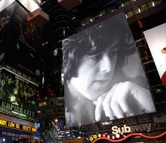 Jimmy Page billboard. Image created by Christopher William Easdon.