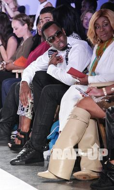 """Sean """"P. Diddy"""" Comb's Daughters Rip The Runway During Kids Fashion Week – Hard 2 Knock Shoppe"""