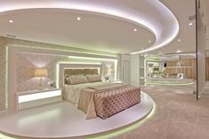 Discover recipes, home ideas, style inspiration and other ideas to try. Modern Mansion Interior, Dream House Interior, Dream Home Design, Luxury Homes Interior, House Design, Interior Design, Bedroom False Ceiling Design, Luxury Bedroom Design, Luxury Rooms