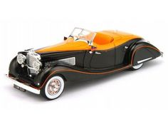 The TrueScale Minitatures 1/43 Duesenberg SJ 1935 Gurney Nutting Speedster 'Maharaja Holkar of Indore' is part of the TrueScale Miniatures 1/43 scale diecast model car range and displays some fantastic and intricate details.