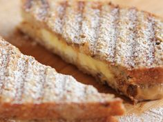 Peanut Butter and Banana Panini recipe from Ree Drummond via Food Network