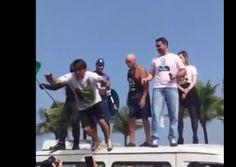 G.H.: Bolsonaro se joga na plateia achando que é um rock...