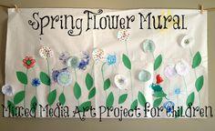 Spring Flower Mural