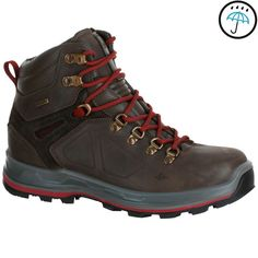 Hiking shoes Hiking - Forclaz 600 High Women's Waterproof Walking Boots - Brown Quechua - Hiking Footwear and Accessories Trekking Outfit, Trekking Gear, Trekking Shoes, Womens Fashion Stores, Womens Fashion Sneakers, Best Hiking Shoes, Volleyball Shoes, Walking Boots, Cross Training Shoes