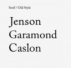 Finding The Right Font: Exploring 11 Different Typography Types