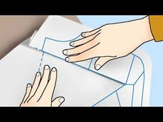 (Eng Sub) Patron de base (part 2) - Leçon Couture n°3 - YouTube