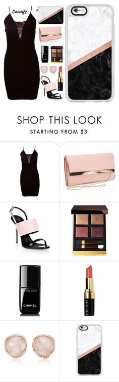 """""""Happy Thursday💪🏻"""" by casetify ❤ liked on Polyvore featuring New Look, Giuseppe Zanotti, Tom Ford, Chanel, Bobbi Brown Cosmetics, Monica Vinader and Casetify"""