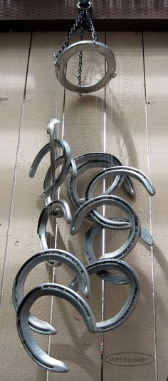 1000 Images About Horseshoe Windchime On Pinterest Wind