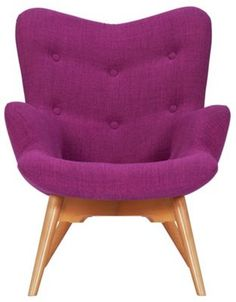 Buy Collection Martha Fabric Wingback Chair - Grey at Argos.co.uk, visit…