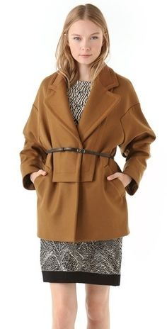 See by Chloe Oversized Coat         $422.50