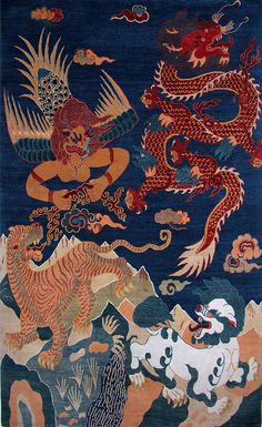 Pin By Lily Corver On Tibetan Tiger Rugs Pinterest