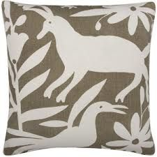 taupe and white otomi