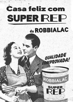 A tinta dos anos 50, que ainda hoje faz muitas casas felizes!  #Robbialac #Throwback