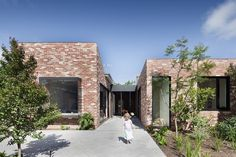 Built by Clare Cousins Architects in St Kilda, Australia with date Images by Shannon McGrath. Located in St Kilda East, this double fronted Victorian house offered ample space for a young family; however, brick . Brick Architecture, Architecture Awards, Victorian Architecture, Architecture Interiors, Interior Exterior, Exterior Design, Clare Cousins, Recycled Brick, Red Brick Walls