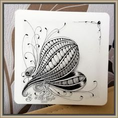 Lily's Tangles: 13.Weekly tiles.