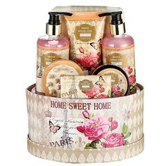 """Large Luxury """"Complete Spa at Home Experience"""" Gift Basket for Women by Draizee – Best Gift for Mothers Day - Skin Care Set with Lotions, Creams, Bath Bombs & More (Luxury Spa Bath Set- Rose) Beauty Shop Online, Gift Baskets For Women, Cream Baths, Relaxation Gifts, Experience Gifts, Spa Gifts, Mother Day Gifts, Aromatherapy, Best Gifts"""