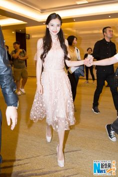 Angelababy at university event in Guangzhou  http://www.chinaentertainmentnews.com/2015/05/angelababy-at-university-event-in.html