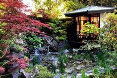 Chelsea Flower Show 2018 by HerryLawford Kyoto Garden, Japan Garden, Herb Garden Design, Garden Paths, Chelsea Flower Show 2018, Japanese Landscape, Japanese Gardens, Hampton Court Flower Show, Chelsea Garden
