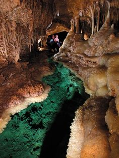 Caverns of Sonora. I want to go back, it's a neat day trip for Texans.