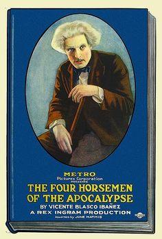 """The Four Horsemen of the Apocalypse"" directed by Rex Ingram / highest grossing film in 1921."