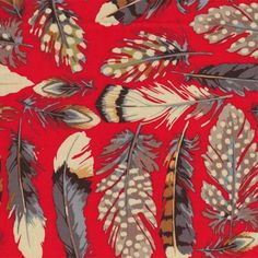 Feather Fabric // Patterns, Fabrics, Prints & Dessins
