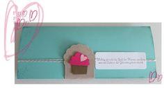 liebste schwester: Yummi Cup Cakes, Geburtstagskarte, pop up karte