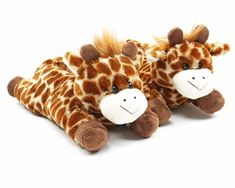 Fuzzy Giraffe Slippers: Warm, cozy, and adorable!