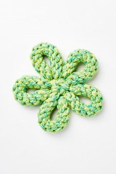 Flower Rope Pet Toy