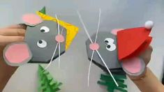 Camping Crafts For Kids, Activities For Kids, School Art Projects, Projects For Kids, Poppy Craft, Page Borders Design, Paper Crafts Origami, Paper Toys, Christmas Crafts