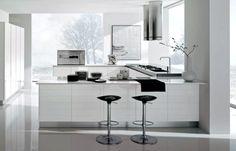 Cocinas Modernas Color Blanco