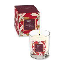RHS-Duftkerze 'Vanilla & Cinnamon'   bestellen - THE BRITISH SHOP english…