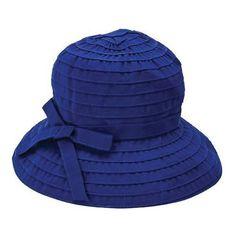 4a98415f4df Women s San Diego Hat Company Ribbon Bucket Hat RBS299 - Navy Hats