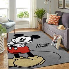 Minnie Mouse Room Decor, Mickey Mouse Quilt, Print Your Photos, Great Housewarming Gifts, Bay Window, Rug Size, House Warming, Room Ideas, Kids Rugs