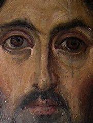 Saint Catherine's Monastery, Monastery Icons, Byzantine Icons, Byzantine Art, Religious Icons, Religious Art, Christ Pantocrator, Face Icon, Jesus Pictures