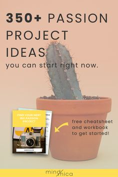 Looking for passion project ideas? Here's 350 for you. BONUS: Some of these make great side hustle ideas perfect for WAHMs and SAHMs by Read Work From Home Jobs, Make Money From Home, How To Make Money, Personal Project Ideas, Building A Business Plan, Genius Hour, Passion Project, Project Free, Project Based Learning