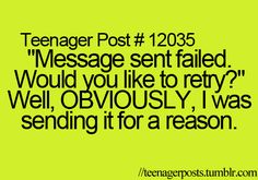 If this would only happen when you accidentally hit send!!!! Oops!