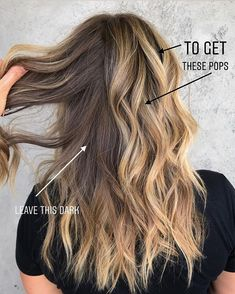 balayage haar Less is MORE say it louder for the people in the back the.chronicles Youve heard me say this before: dont over foil! Blonde Foils, Hair Color Balayage, Hair Highlights, Ombre Hair, T Section Highlights, Grey Hair Dye, Bayalage, Brown Blonde, Blonde Brunette