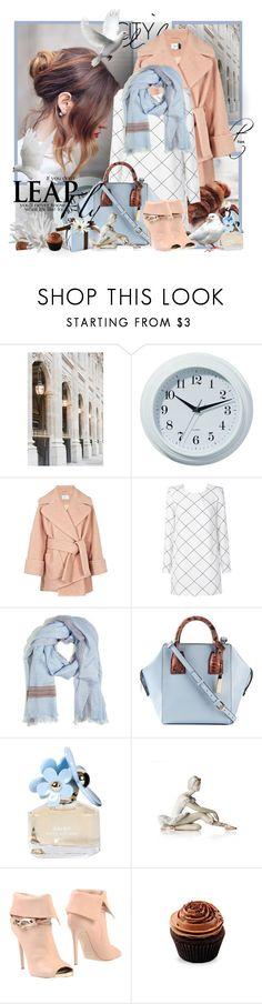 """№ 535"" by olga3001 ❤ liked on Polyvore featuring Hun Rick Owens, WALL, Carven, sass & bide, Faliero Sarti, STELLA McCARTNEY, Marc Jacobs, Lladró and Le Silla"