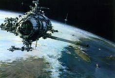 The Beautiful Space Art Of John Berkey | Gizmodo Australia