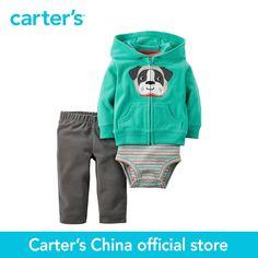 Купить товарКартера 3 шт. детские дети дети Флис Кардиган Установить 121G765, продавец картера Китай официальный магазин в категории Комплекты одеждына AliExpress. Картера 3 шт. детские дети дети Флис Кардиган Установить 121G765, продавец картера Китай официальный магазин