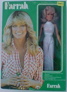 MEGO: 1977 Farrah Fawcett Doll #Vintage #Toys