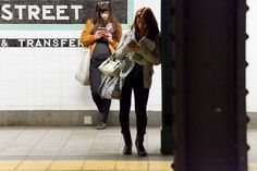 Underground New York Public Library. A blog about reading on subways in Manhattan.  This is so absolutely fantastic.