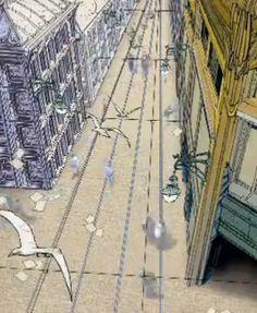 """""""Urbicande-la-Neuve"""" - les passants de Louvain-la-Neuve transportés en temps-réel dans l'univers BD des """"Cités Obscures""""."""