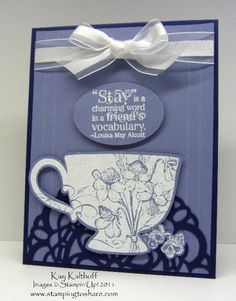 Tea Shoppe stampin-up-cards