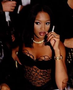 Black womens models – Beautiful Black Women Of Today Look Fashion, 90s Fashion, Celebrities Fashion, Black Girl Magic, Black Girls, Naomi Campbell 90s, 1990 Style, 90s Models, Women Models