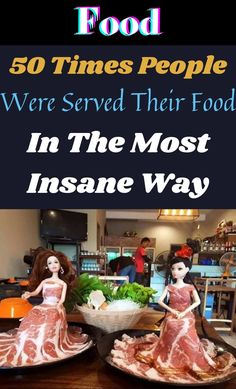 When people go to a restaurant it's because they want to eat.Not because they want to be dazzled by some weird food display. #50Times #Food #InsaneWay Pork Chop Recipes, Ground Beef Recipes, Shrimp Recipes, Salmon Recipes, Chicken Recipes, Fall Nails, Summer Nails, Healthy Dinner Recipes, Vegetarian Recipes