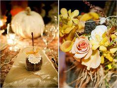 Fall Wedding/Caramel Apple Favors/Branch Sticks