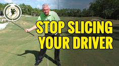 HOW TO FIX A GOLF SLICE WITH DRIVER IN 2 MINUTES! - YouTube