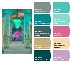Pretty color palette  www.letschipit.com