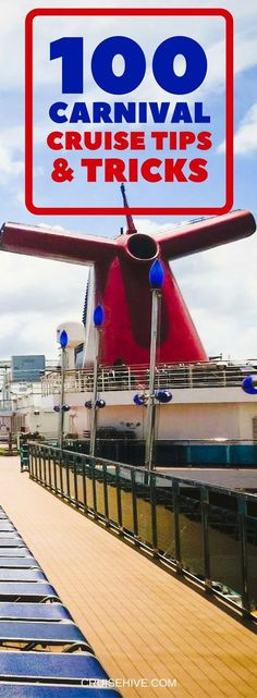 100 Carnival Cruise Tips and Tricks The ultimate Carnival cruise tips and tricks guide covering all aspects of your upcoming cruise vacation. Find some great advice to help you out so you can focus on having fun or relaxing. Packing For A Cruise, Cruise Travel, Cruise Vacation, Packing Tips, Vacations, Vacation Deals, Travel Deals, Disney Cruise, Honeymoon Cruises
